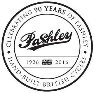 Pashley head tube logo