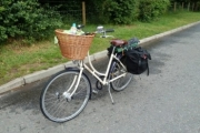 Pashley going camping