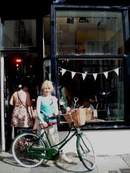 My new 'Bell's Bikes' green Pashley Sovereign Princess bicycle - Hastings!
