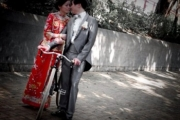 Chinese Tradional Wedding with Pashley Guvnor'