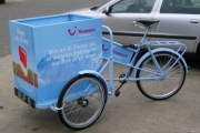 Blue Ice Cream Tricycles