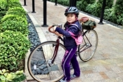 Young Pashley rider