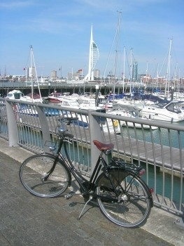 Spinnaker Tower and Pashley