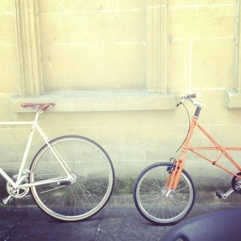 Clubman S2C and Moulton TSR2