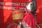 Alison with her Pashley Sonnet