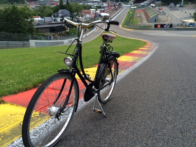 Pashley at Eau rouge