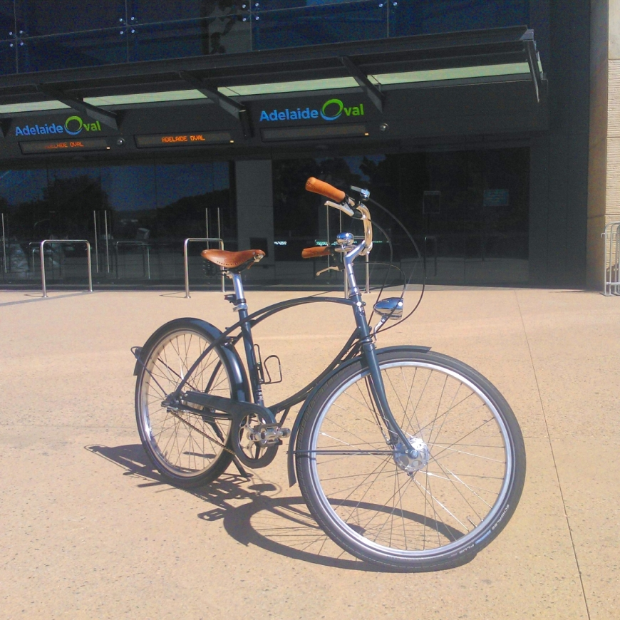 Parabike at Adelaide Oval Eastern Gate