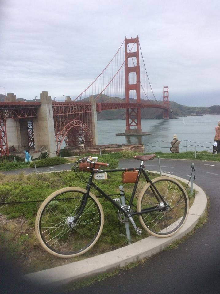 The Guv'nor at the Golden Gate Bridge