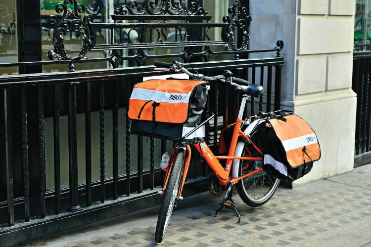TNT Delivery Bicycle