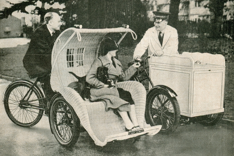Pashley 'People Carrier' and Dairy Cart