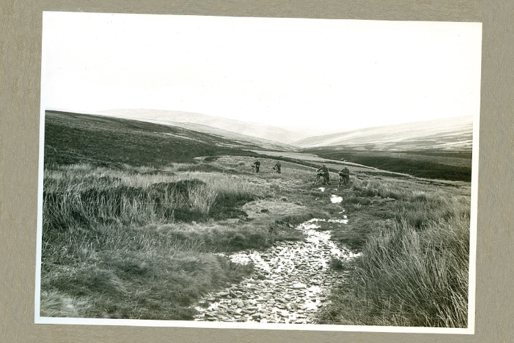 Cycling on the moors 1939