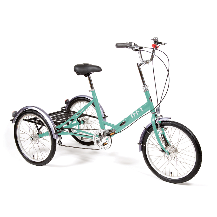 Tri 1 Adult Folding Tricycle With 7 Gears Pashley