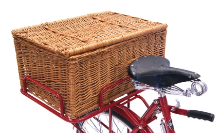 Euroload Rear Carrier Adaptor and Optional Wicker Hamper